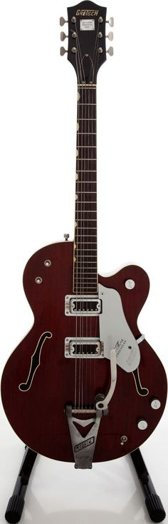 1966 Gretsch Chet Atkins Tennessean Walnut Semi-Hollow Body Electric Guitar #heritageauctions