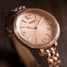 Rose Gold Watches | Rose Gold Handbags & Jewelry | FOSSIL