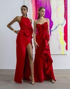 Bridesmaid Dresses, Prom Dresses, Formal Dresses, Wedding Dresses, Bridal Gowns, Vestidos Fashion, Fashion Dresses, Red Fashion, Couture Fashion