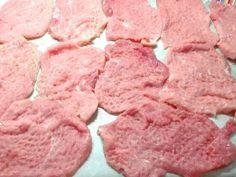 Bacsa szelet 🧀 recept lépés 1 foto Lamb, Bacon, Food And Drink, Pork, Chocolate, Meat, Cooking, Joker, Etsy