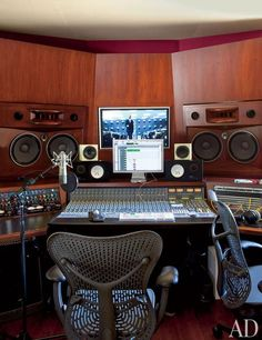 I want my own home studio. Producing, recording music and being a very successful Hip-Hop artist