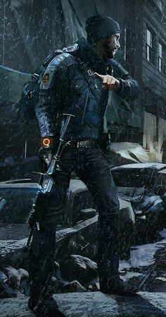 Techwear Inspiration: Part I (Tom Clancy's The Division artwork) Division Games, Tom Clancy The Division, Future Soldier, Gaming Wallpapers, Foto Art, Shadowrun, Video Game Art, Post Apocalyptic, Game Character