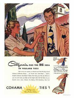 1940s  Cohama Ties