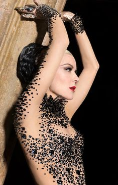 Daphne Guinness by Markus Indrani for Muse Magazine