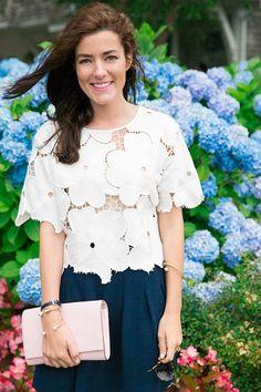 Classy Girls Wear Pearls: Chatham Hydrangeas