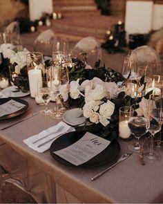 Let's talk about f l o w e r s. Are they worth it? Wedding Mood Board, Wedding Goals, Our Wedding, Wedding Planning, Dream Wedding, Floral Wedding, Wedding Flowers, Birthday Dinners, Wedding Table Settings