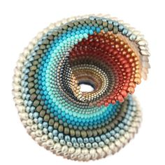 """This is stunning! From @belovedbeadwork """"In the midst of tiredness and frustration, I made one of the most beautiful objects of my artistic career. I am madly in love with it."""""""
