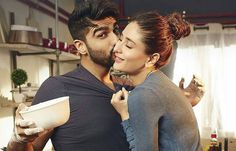 Arjun Kapoor & Kareena Kapoor's Romantic Kissing Image From Ki and Ka
