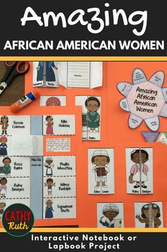 Need a fun and hands-on way to teach your kids how to study famous historical figures? This interactive biography notebook is a great tool to study all 12 of these amazing African American women. Featuring 14 different activities, this project is easily a Social Studies Activities, Educational Activities, American History Lessons, First Grade Classroom, Writing Lessons, African American History, Teacher Resources, Teaching Ideas, Interactive Notebooks
