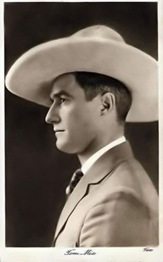 """""""Cowboy icon and Hollywood movie star Tom Mix had an interesting philosophy of… Up The Movie, Movie Tv, Silent Film Stars, Movie Stars, Vintage Hollywood, Classic Hollywood, Westerns, Old Western Movies, The Lone Ranger"""
