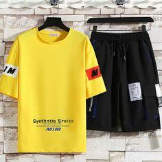 ://lztees.com/product/summer-mens-sports-suits-fashion-k-pop-printing-short-sleeve-sweat-t-shirts-men-tops-and-casual-harajuku-jogger-sports-men-shorts/ Tracksuit Set, Sport Man, Suit Fashion, Printed Shorts, Casual Tops, Men Shorts, Harajuku, Joggers, Kpop