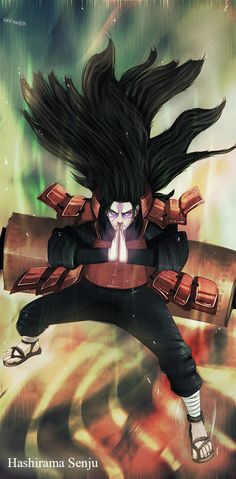 Hashirama Senju... pretty cool artpiece.