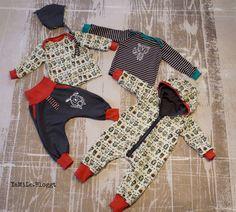 YaMiLe Bloggt: Rambazamba BabyOutfit from klimperklein