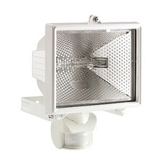 Projecteur à fixer extérieur Tanko, blanc, 400 watts, - 118 mn Merlin, Outdoor Garden Lighting, Luminaire Design, Spectrum, Magazine Rack, Storage, Furniture, Home Decor, Bugs