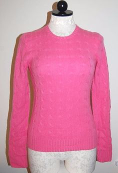 Cableknit Crewneck Sweater. Spoil yourself with this, luxurious, classic, incomparably soft cashmere sweater . This sweater knit with soft luxurious cashmere yarn could be a favorite addition to your wardrobe.