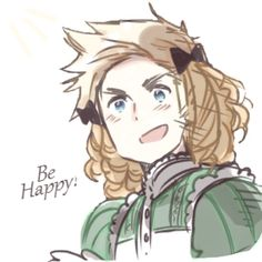 Moving somewhere far away from my friends today. I can't believe I saw a picture of my main RP character telling me to be happy XD