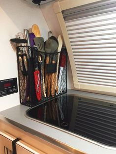 Hiding storage in a room is really simpler than you believe. You will find that you have a lot of space down there. Hidden counter space is one of the best RV storage ideas you will ever go to. If …Hidden Camper Storage Ideas 150