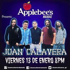 Hoy tocamos en @applebeesguate de Majadas! 8PM todos invitados #Viernes13 #livemusic