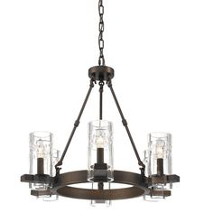 Buy the Millennium Lighting Rubbed Bronze Direct. Shop for the Millennium Lighting Rubbed Bronze Tulsa 6 Light Wide Chandelier with Glass Shades and save. Bronze Chandelier, Chandelier Ceiling Lights, Pendant Lighting, Chandeliers, Farmhouse Chandelier, Rustic Chandelier, Entryway Chandelier, Online Lighting Stores, Wagon Wheel Chandelier