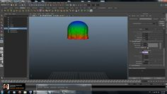 Learn how to animate a Jellyfish in Maya using Ncloth with with video tutorial by Khalil Khalilian https://vimeo.com/70894318