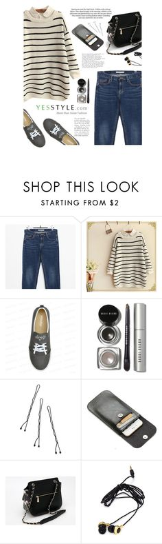 """Shop - YesStyle"" by yexyka ❤ liked on Polyvore featuring H&M, COII, yeswalker, Bobbi Brown Cosmetics, Conair, Axixi, Forever 21, winterfashion, yesstyle and blackfriday"