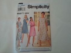 7113 Simplicity Misses Dress Sewing by MammieandPappysPlace