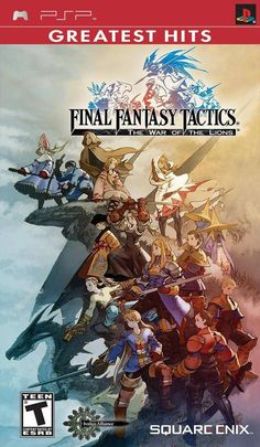 Final Fantasy Tactics: The War of the Lions (Sony PSP, 2007) Complete