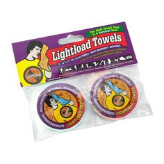 Lightload Towels (Two Pack 12×12″ Hand Size), The Only Towels That Are Survival Tools