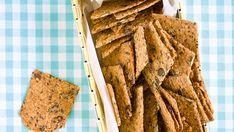 Knækbrød med hørfrø og græskarkerner - Meyers