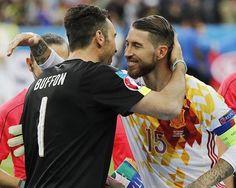 Sergio Ramos & Gigi Buffon