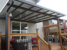Charmant Pergola Cover | DIY Patio Cover Kit | Polycarbonate Patio Cover | The  Northlander™ Skyview Quick Canopy By Craft Bilt | Garden | Pinterest |  Pergola Cover, ...