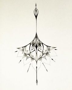 Sternum tattoo idea