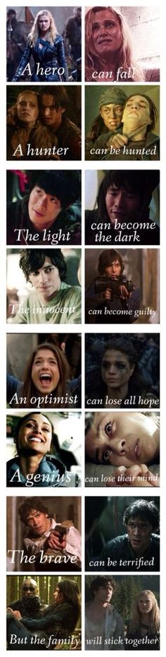This is incredibly sad ♡<<and incredibly true The 100 Cast, The 100 Show, It Cast, Bellarke, Movies Showing, Movies And Tv Shows, Series Movies, Tv Series, The 100 Serie