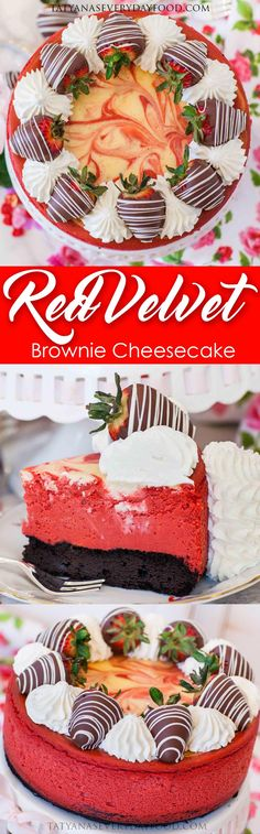 Calling all cheesecake lovers – this is one for the books! This swirled red velvet brownie cheesecake with whipped cream and chocolate strawberries is delicious to the last bite! It's velvety, creamy, rich and chocolatey and packed with incredible flavor. The whipped cream and strawberries on top don't hurt either! I start this cheesecake with […]