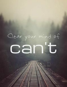 """""""I can"""""""