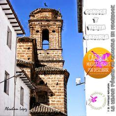 La Iglesia del Carmen, de la Orden de las Carmelitas, por el año 1.768. Su proyecto se debe a las primeras décadas del siglo XVIII, firmado por Blas Antonio Delgado, a la sazón Maestro Mayor de la Catedral de Jaén.