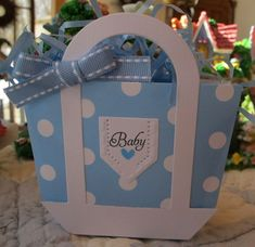 Diaper Bag Shower Favor by Susie B - Cards and Paper Crafts at Splitcoaststampers