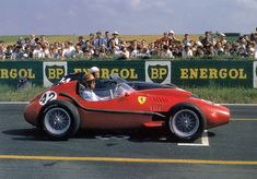 1958 GP Francji (Peter Collins) Ferrari 246