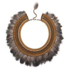 Dakota collar in amber by MARGOT & ME