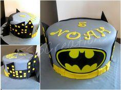 Batman (super hero) birthday cake