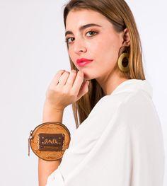 Anekke Arizona - Peňaženka na mince Western Purses, Smart Watch, Arizona, Belt, The Originals, Brown, Leather, Unique, Products