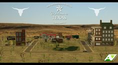 [HOOD DECOR] Welcome to TEXAS! [[MORE]] Terrain Replacement by evanesco. ENJOY! A.D.Inc © 2016 ► DOWNLOAD
