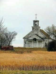 An Old Abandoned Church.