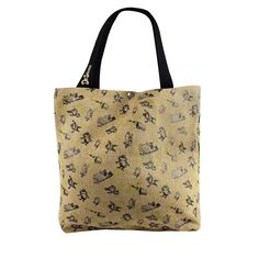 Reversible Tote Bag has Multiple uses, Light-Weight Strong, Durable for Everyday use Dr Seuss The Lorax Eco Friendly