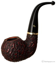 Peterson Kinsale Rusticated (XL23) Fishtail Pipes at Smoking Pipes .com