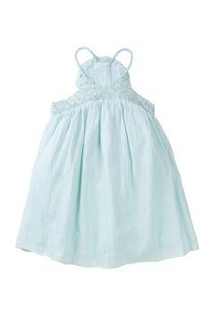 Cotton Braided Rosette Dress on HauteLook