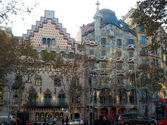 Passeig de Gracia, Barcelona - Walk this major avenue and alternate admiring fantastic architecture with browsing shops and enjoying the cafes. Get some great trip ideas and start planning your next trip! See More: bit.ly/RoutePerfectP