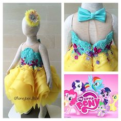 My lil Pony dress #honeybeekids #honeybee_kids #couturecollection #fashionkids #highendfashionkids