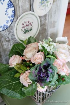 Learn how to make a fresh cottage bouquet out of flowers from your local grocery store!