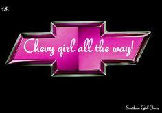 Chevy girl!